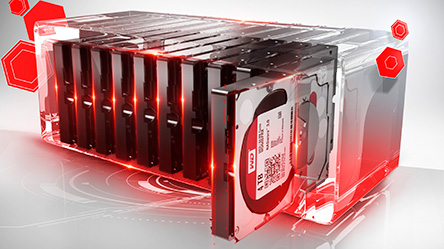 HDD RED WD10EFRX